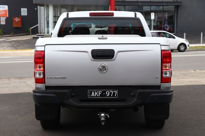 2016 Holden Colorado LT RG MY17 Silver