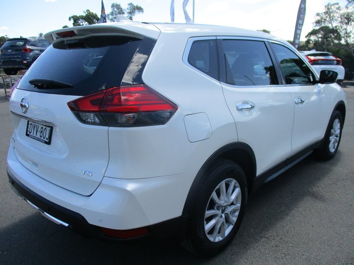 2018 Nissan X-TRAIL TS T32 Series II 4X4 On Demand Ivory Pearl