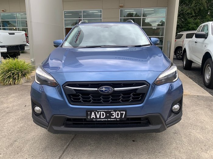 2018 Subaru XV 2.0i-S G5X MY18 Four Wheel Drive Blue