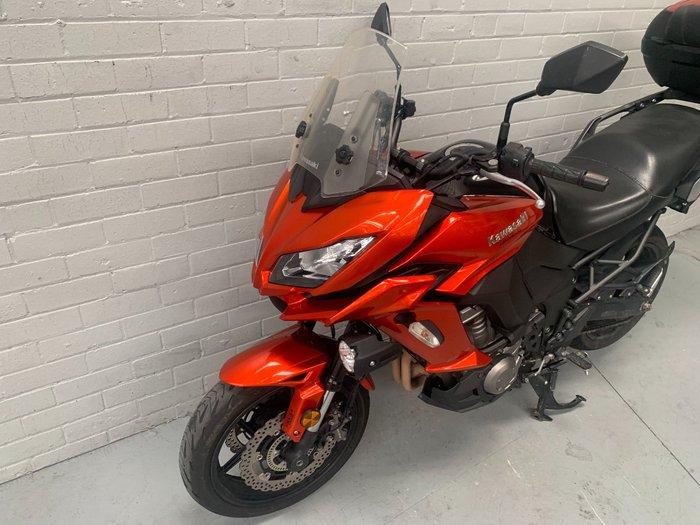 2015 Kawasaki VERSYS 1000 (KLZ1000) Orange