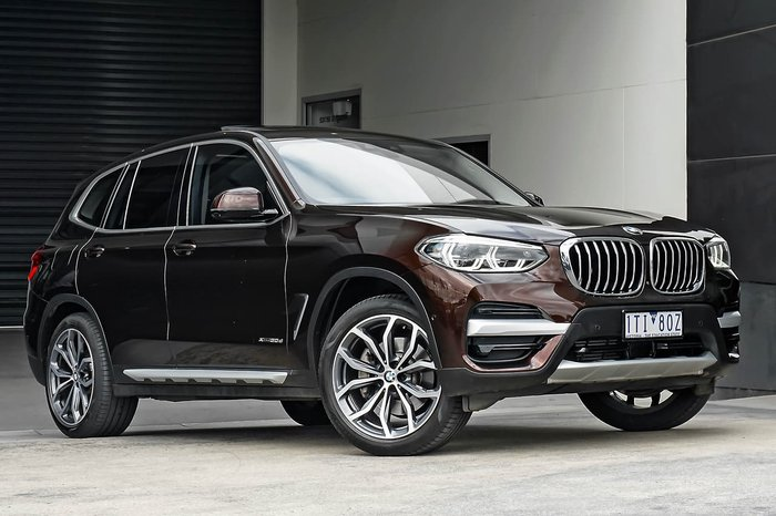 2017 BMW X3 xDrive30d G01 4X4 Constant Brown