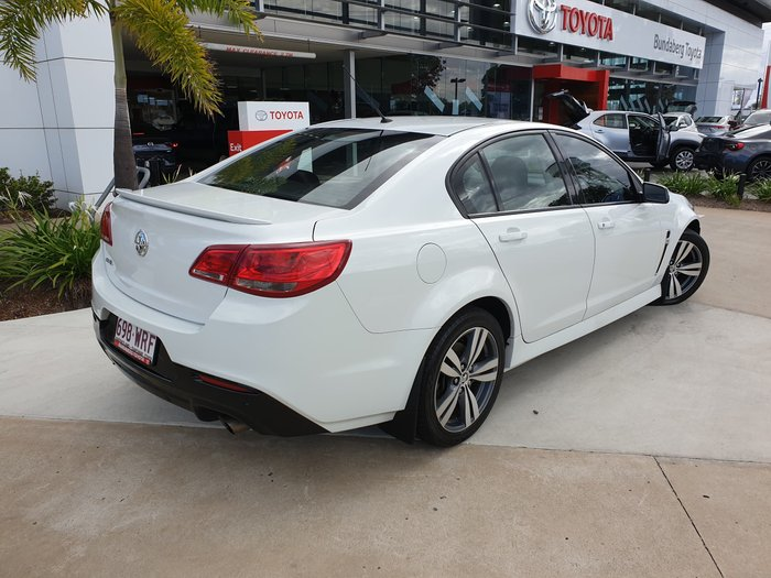 2014 Holden Commodore SV6 VF MY15 Heron White
