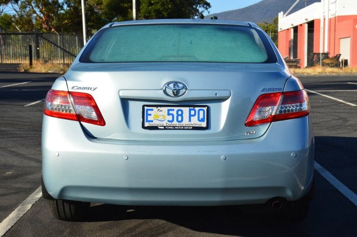 2010 Toyota Camry Altise ACV40R MY10 BLUE