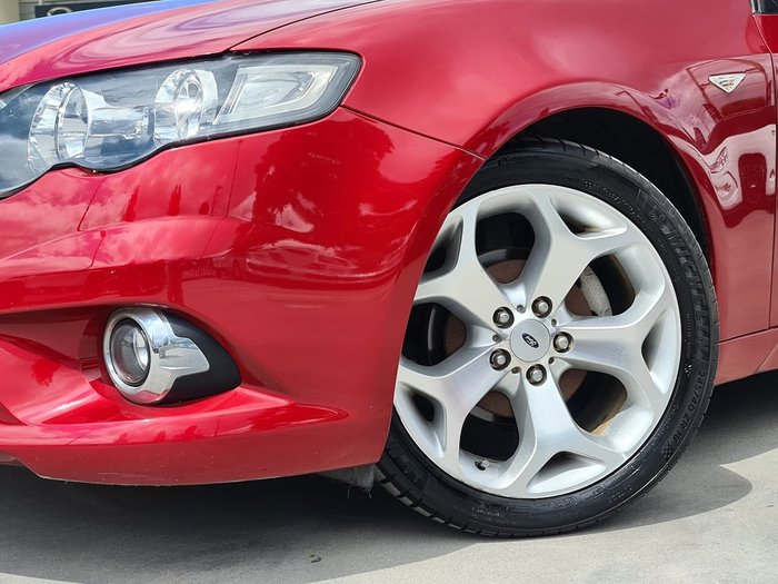 2009 Ford Falcon XR6 FG Red