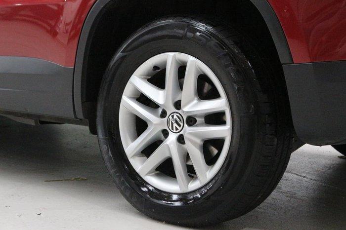 2010 Volkswagen Tiguan 103TDI 5N MY11 Four Wheel Drive Maroon