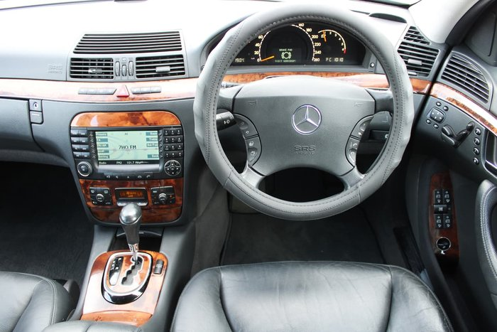 2004 Mercedes-Benz S-Class S350 V220 MY04 Silver