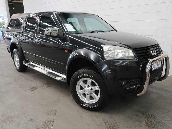 2013 Great Wall V200 K2 MY13 4X4 Black