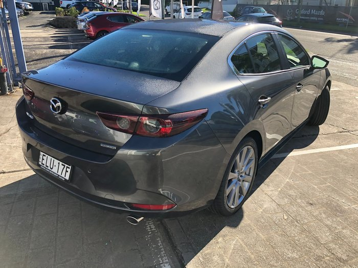 2021 Mazda 3 G20 Evolve BP Series Machine Grey