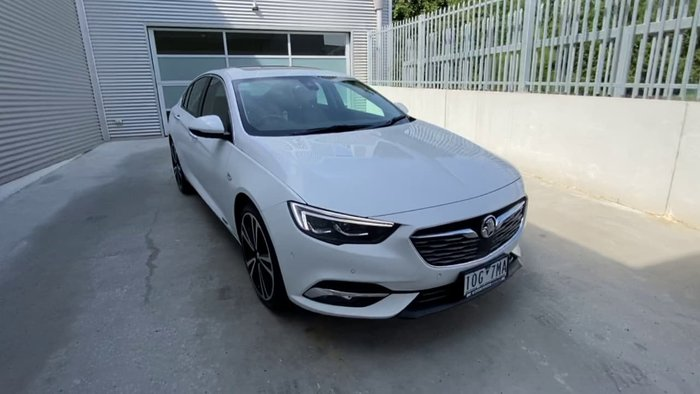 2018 Holden Calais V ZB MY18 AWD White