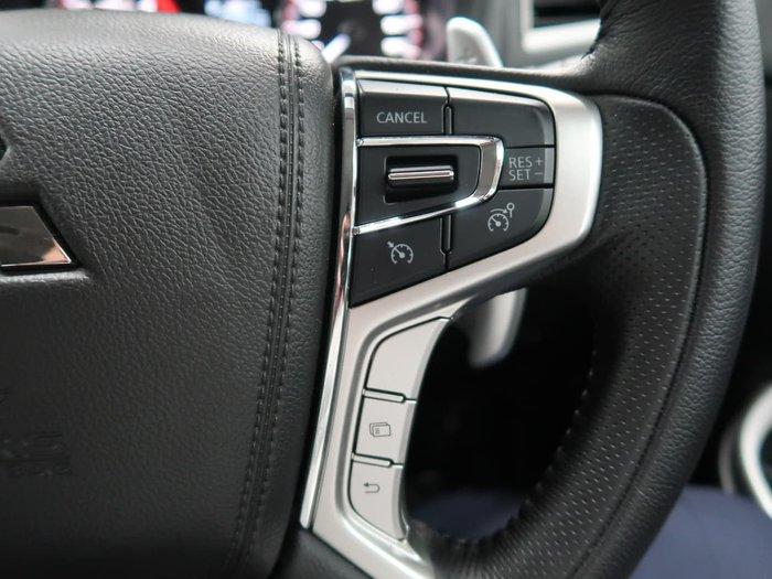 2019 Mitsubishi Triton GLS Premium MR MY19 4X4 Dual Range Blue