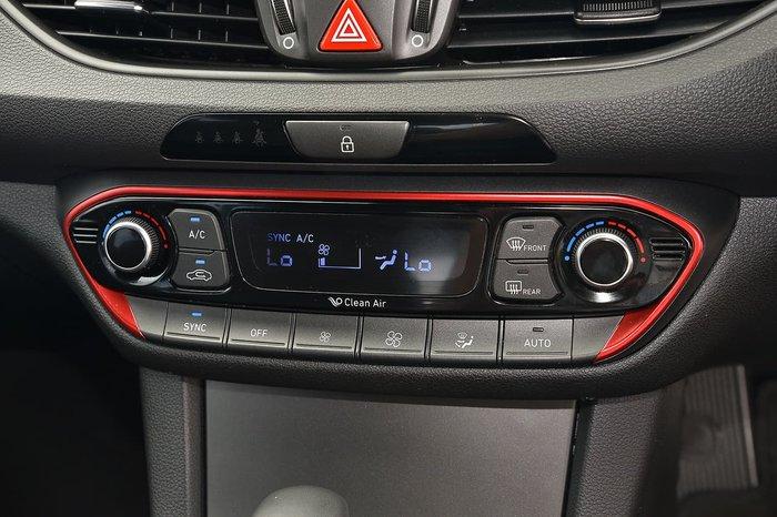 2017 Hyundai i30 SR Premium GD5 Series II MY17 Black