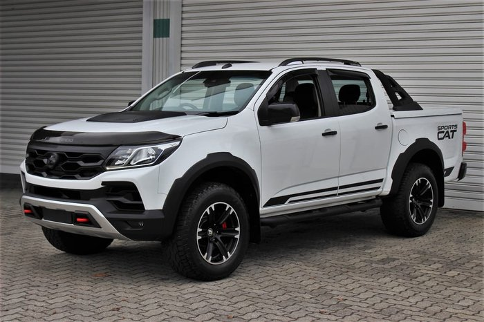 2018 Holden Special Vehicles Colorado SportsCat+ RG MY18 4X4 Dual Range White