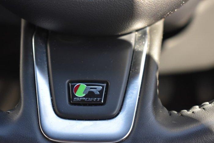 2017 Jaguar F-PACE 30d R-Sport X761 MY18 Four Wheel Drive Black