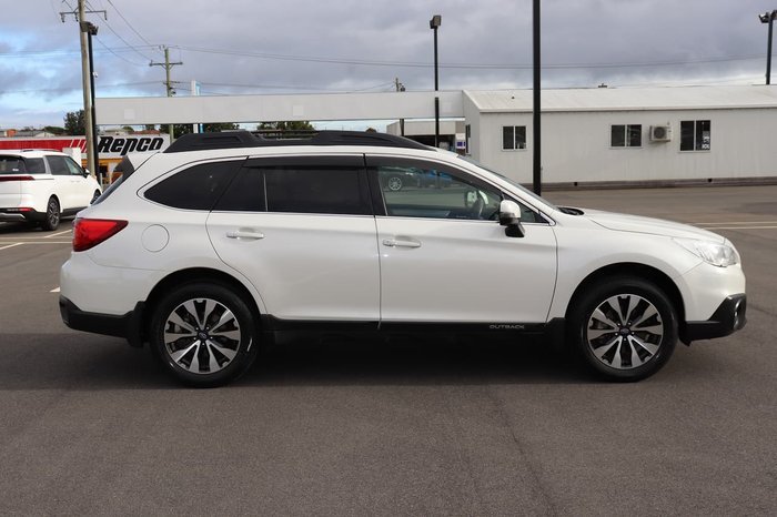 2017 Subaru Outback 2.5i 5GEN MY17 Four Wheel Drive White