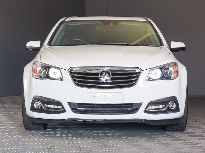 2014 Holden Calais V VF MY14 Heron White