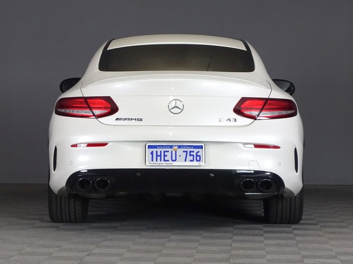 2020 Mercedes-Benz C-Class C43 AMG C205 Four Wheel Drive White