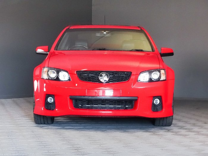 2011 Holden Commodore SS V VE Series II Red