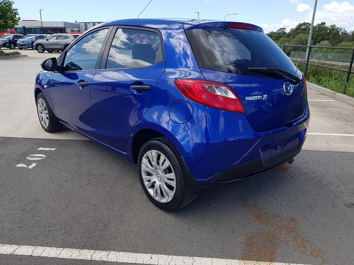 2009 Mazda 2 Neo DE Series 1 Blue