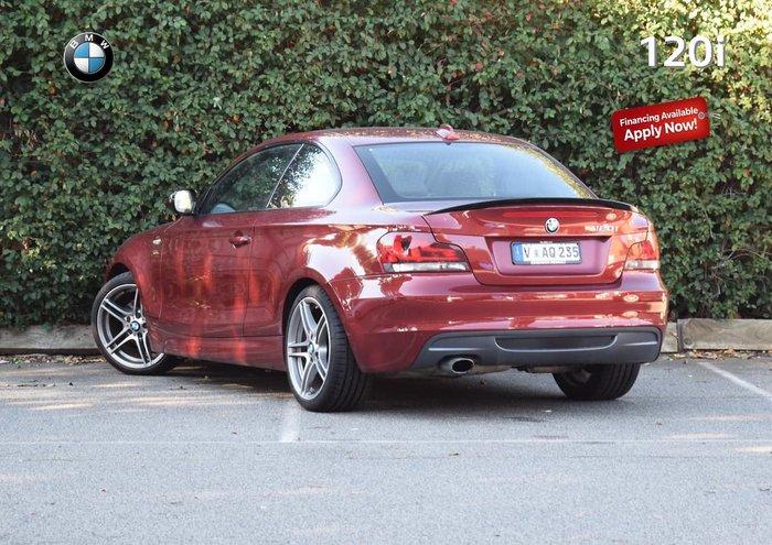 2013 BMW 1 Series 120i E82 LCI MY13 Red
