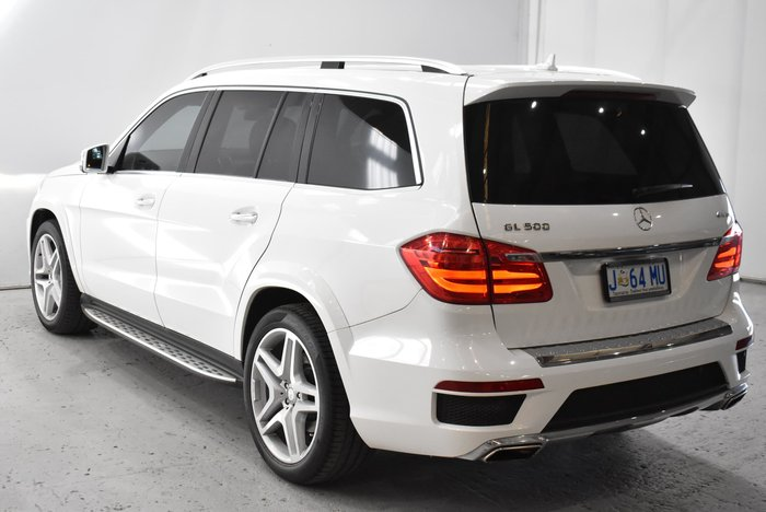 2013 Mercedes-Benz GL-Class GL500 BlueEFFICIENCY X166 4X4 Constant White