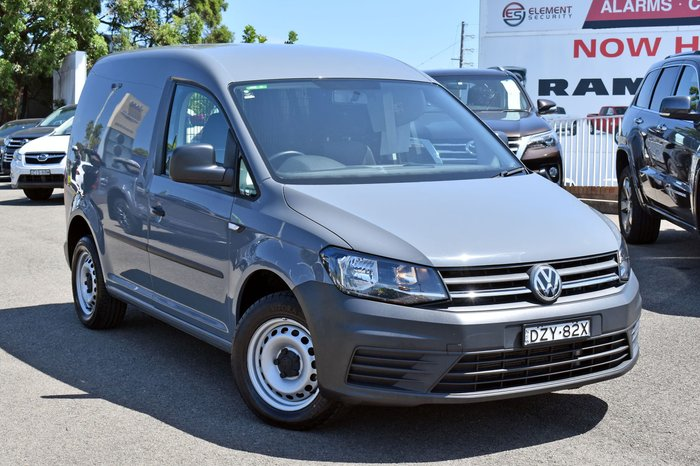 2018 Volkswagen Caddy TDI250 2KN MY18 Pure Grey