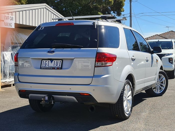 2012 Ford Territory TS SZ Silver