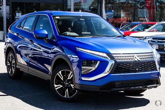 2020 Mitsubishi Eclipse Cross LS YB MY21 Lightning Blue