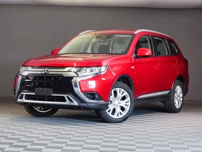 2019 Mitsubishi Outlander ES ZL MY20 AWD Red Diamond