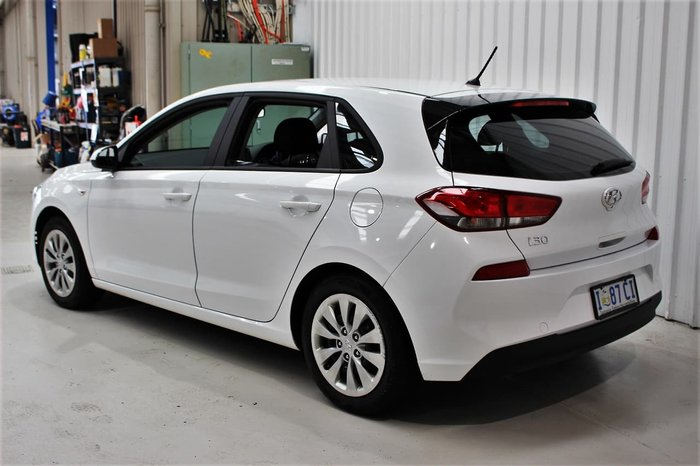 2019 Hyundai i30 Go PD MY19 White