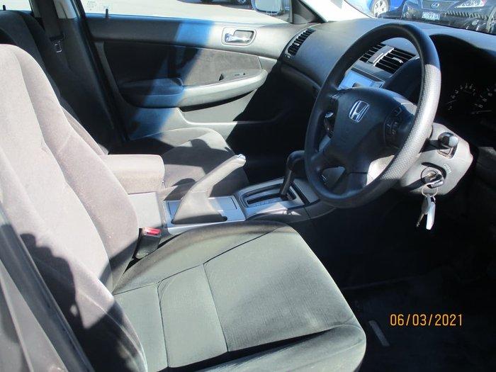 2007 Honda Accord V6 7th Gen MY07 Silver