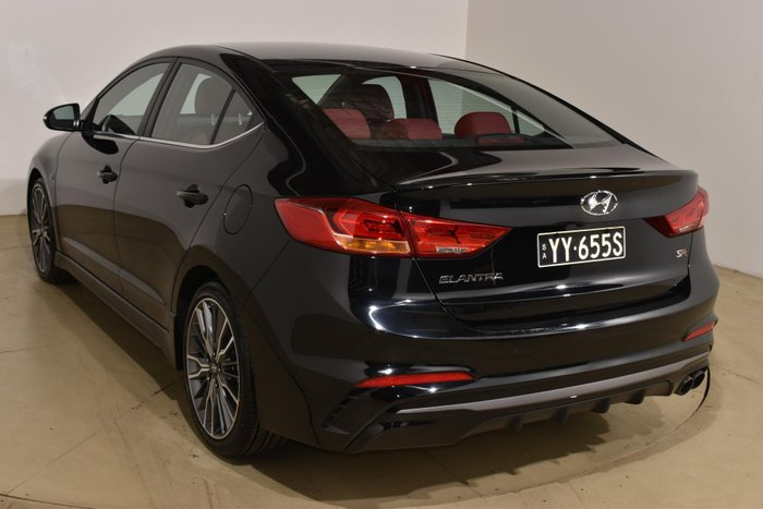 2016 Hyundai Elantra SR Turbo AD MY17 Phantom Black