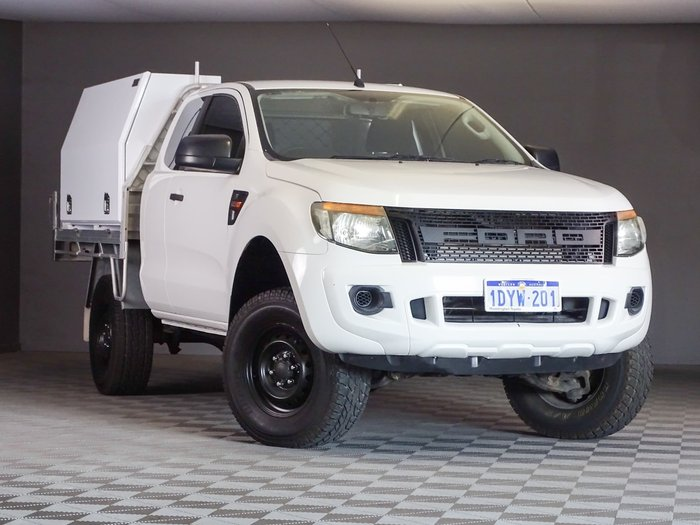 2012 Ford Ranger XL Hi-Rider PX Cool White
