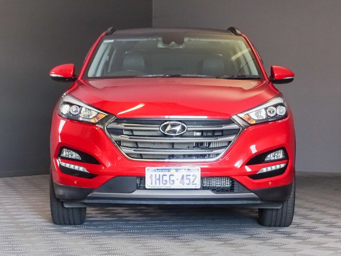 2017 Hyundai Tucson Highlander TLE2 MY18 AWD Fiery Red