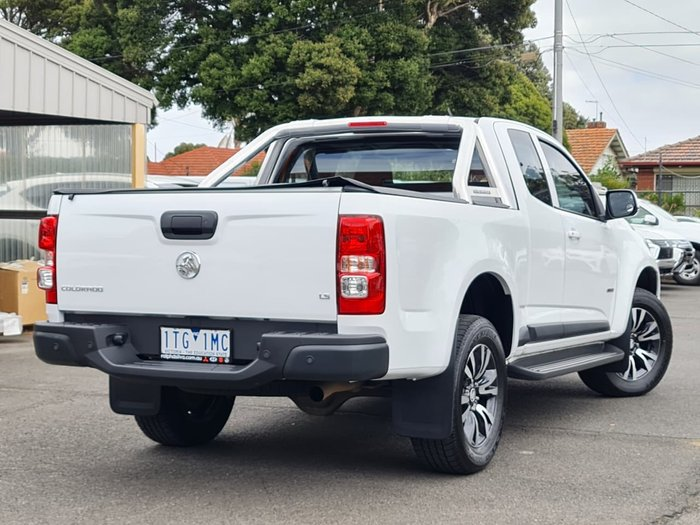 2019 Holden Colorado LS RG MY20 White