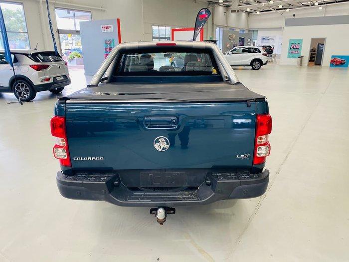 2015 Holden Colorado LS-X RG MY16 4X4 Dual Range Blue
