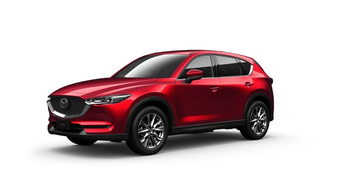 2021 Mazda CX-5 Akera KF Series 4X4 On Demand Red
