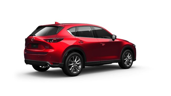 2021 Mazda CX-5 Akera KF Series 4X4 On Demand Red