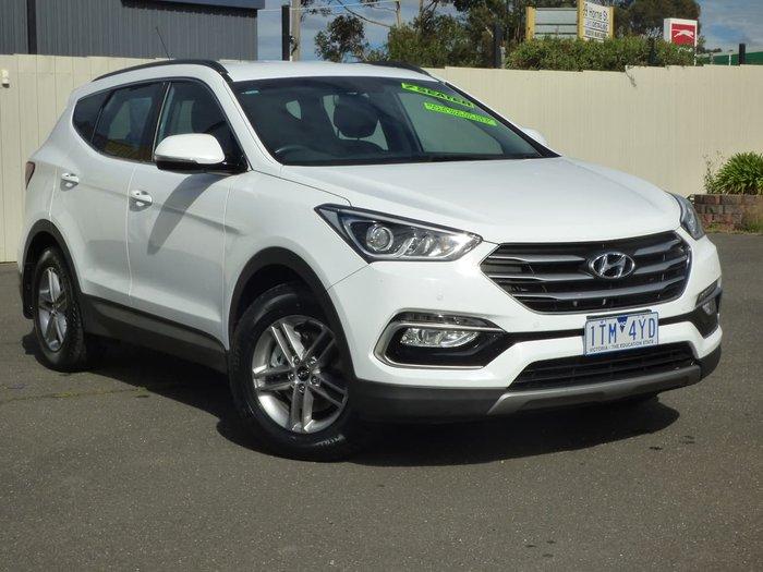 2017 Hyundai Santa Fe Active DM3 Series II MY17 4X4 On Demand White