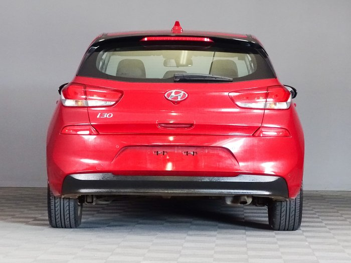 2018 Hyundai i30 Active PD2 MY18 Fiery Red