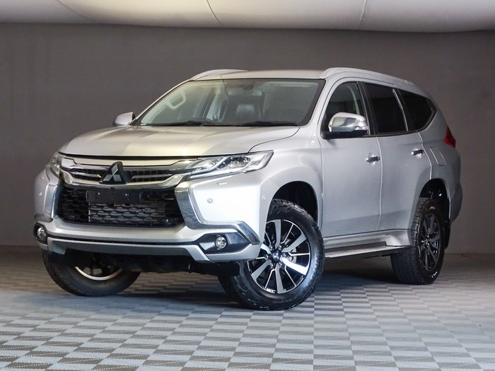 2018 Mitsubishi Pajero Sport Exceed QE MY18 4X4 Dual Range Sterling Silver