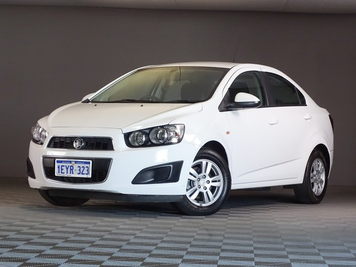 2016 Holden Barina CD TM MY16 Summit White