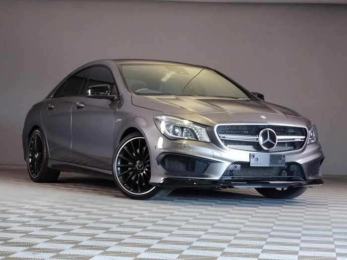 2014 Mercedes-Benz CLA-Class CLA45 AMG C117 Four Wheel Drive Mountain Grey
