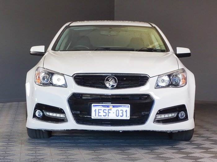 2015 Holden Commodore SS V VF MY15 Heron White