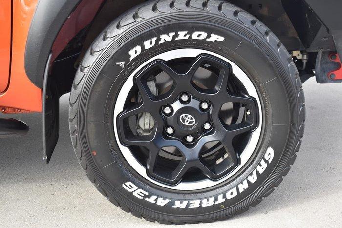 2018 Toyota Hilux Rugged X GUN126R 4X4 Dual Range Orange