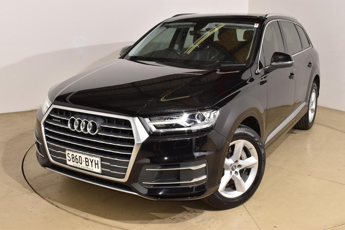 2017 Audi Q7 TDI 4M MY18 Four Wheel Drive Night Black