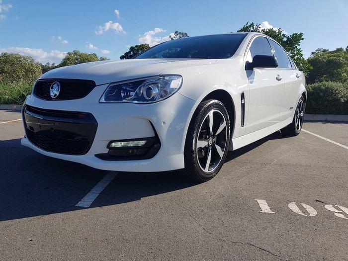 2016 Holden Commodore SV6 Black VF Series II MY16 White