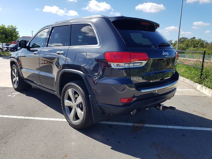 2017 Jeep Grand Cherokee Limited WK MY17 4X4 Dual Range Grey