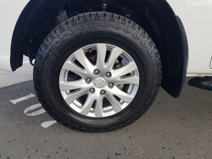 2012 Mazda BT-50 GT UP 4X4 Dual Range White