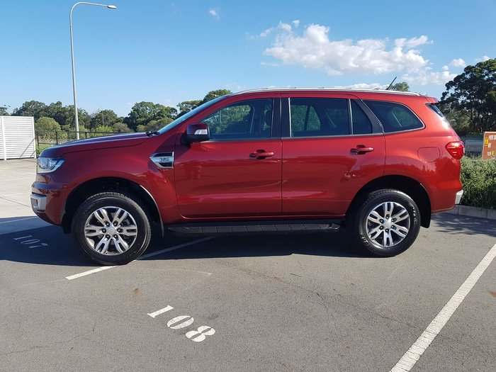 2018 Ford Everest Trend UA MY18 Maroon