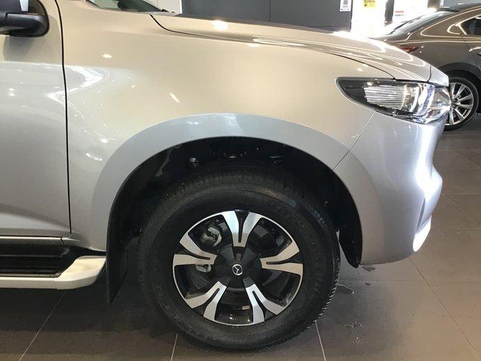2020 Mazda BT-50 XTR TF 4X4 Dual Range Silver